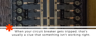 breaker keeps tripping